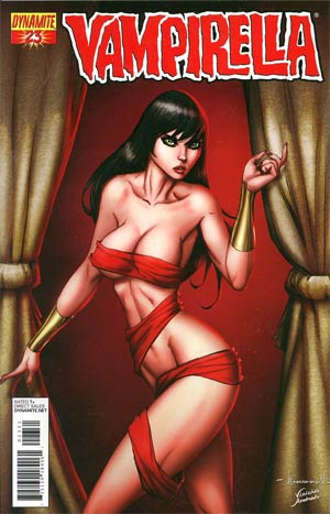 Vampirella Vol 4 #23 Incentive Ale Garza Risque Cover