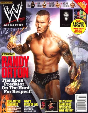 WWE Magazine #81 Oct 2012