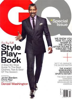 GQ Special Fall Style Playbook Oct 2012