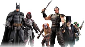 Batman Arkham City Series 3 Complete 6-Figure Set