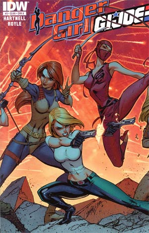 Danger Girl GI Joe #3 Regular Cover A