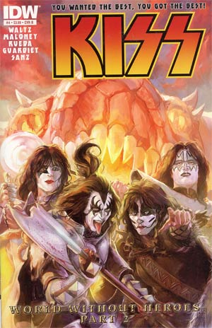 KISS Vol 2 #4 Regular Cover B Xermanico