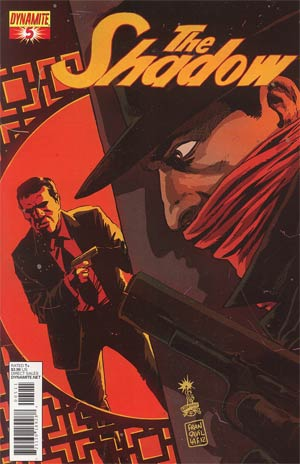 Shadow Vol 5 #5 Regular Francesco Francavilla Cover