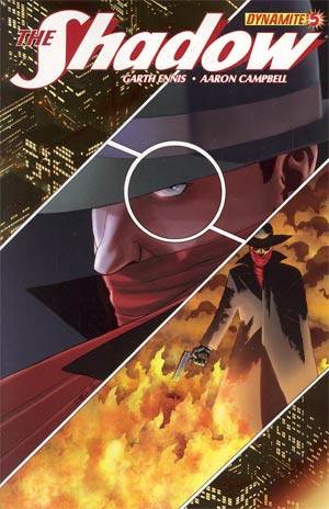 Shadow Vol 5 #5 Regular John Cassaday Cover