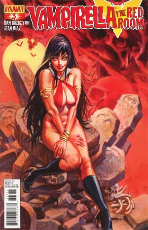 Vampirella Red Room #3 Dan Brereton Cover