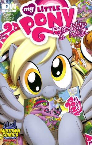 My Little Pony Friendship Is Magic #1 Midtown Exclusive Amy Mebberson Variant Cover