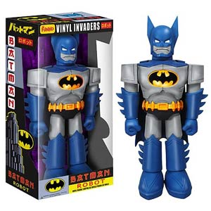 Batman Blue Suit Robot 11-Inch Vinyl Figure