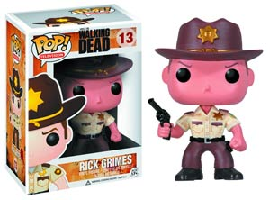 POP Television 13 The Walking Dead Sherriff Rick Grimes Vinyl Figure