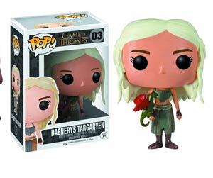 POP Television Game Of Thrones 03 Daenerys Targaryen Vinyl Figure