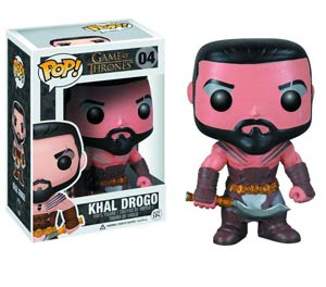 POP Television Game Of Thrones 04 Khal Drogo Vinyl Figure