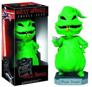 Nightmare Before Christmas Oogie Boogie Wacky Wobbler