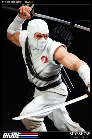 GI Joe Storm Shadow Polystone Statue