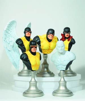 X-Men Original Team Mini Bust 5-Pack By Bowen