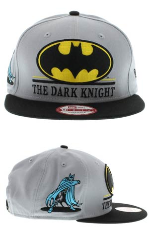 Batman Hero Underline Official Snap Back Cap M/L