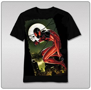 Scarlet Spider The Lean To T-Shirt Large