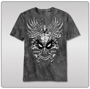 Spider-Man Gritty Spider T-Shirt Large