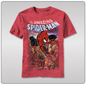 Spider-Man Spiderscene T-Shirt Large