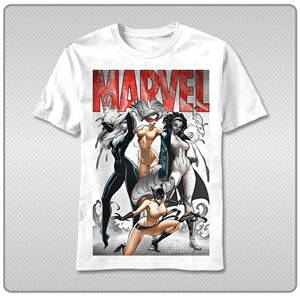Marvel Ladies T-Shirt Large