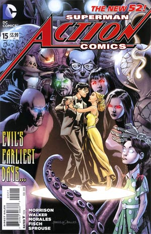 Action Comics Vol 2 #15 Cover A Regular Rags Morales Cover