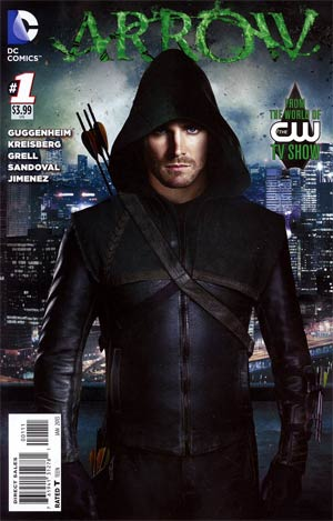 Arrow #1 Regular Photo Cover