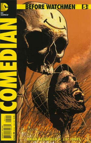 Before Watchmen Comedian #5 Regular JG Jones Cover