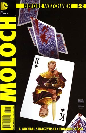 Before Watchmen Moloch #2 Regular Eduardo Risso Cover