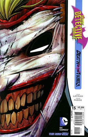 Detective Comics Vol 2 #15 Regular Jason Fabok Cover (Death Of The Family Tie-In)