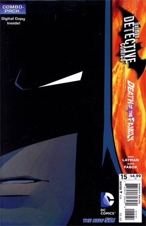 Detective Comics Vol 2 #15 Combo Pack With Polybag (Death Of The Family Tie-In)