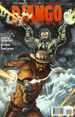 Django Unchained #2 Regular Movie Key Art Cover