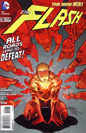 Flash Vol 4 #15 Regular Francis Manapul Cover