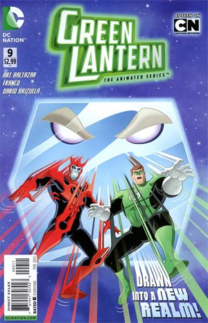Green Lantern The Animated Series #9