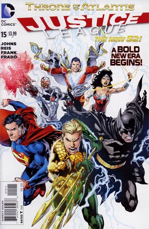 Justice League Vol 2 #15 Regular Ivan Reis Cover (Throne Of Atlantis Part 1)