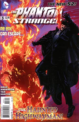 Phantom Stranger Vol 4 #3 Regular Brent Anderson Cover