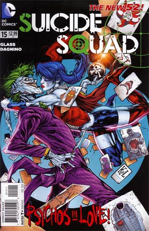 Suicide Squad Vol 3 #15 (Death Of The Family Tie-In)