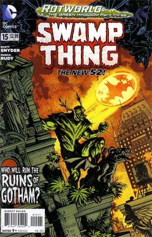 Swamp Thing Vol 5 #15