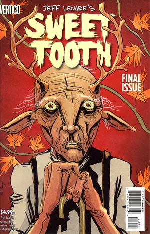 Sweet Tooth #40 Regular Jeff Lemire Cover