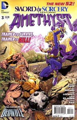 Sword Of Sorcery Vol 2 #3 Regular Aaron Lopresti Cover