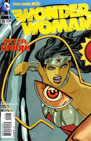 Wonder Woman Vol 4 #15 Regular Cliff Chiang Cover