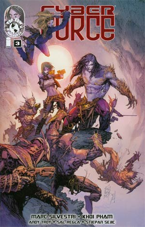 Cyberforce Vol 4 #3 Regular Marc Silvestri Cover