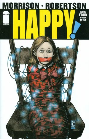 Happy #4 Regular Darick Robertson Cover