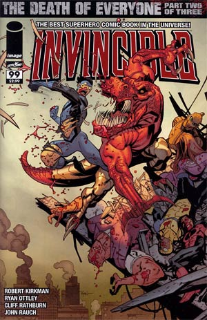 Invincible #99 Cover A Regular Ryan Ottley Cover