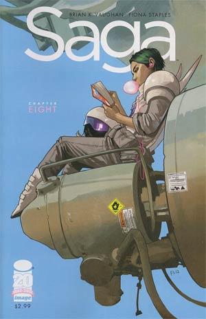 Saga #8 Cover A 1st Ptg