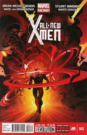 All-New X-Men #3 Cover A 1st Ptg Regular Stuart Immonen Cover