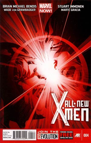All-New X-Men #4 1st Ptg Regular Stuart Immonen Cover