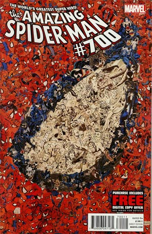 Amazing Spider-Man Vol 2 #700 1st Ptg Regular Mr Garcin Collage Cover