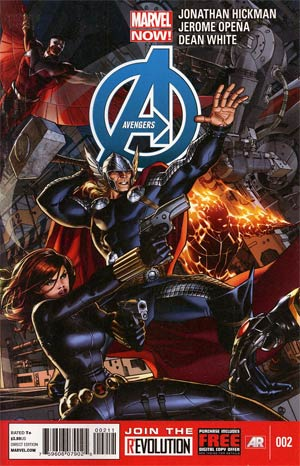 Avengers Vol 5 #2 1st Ptg Regular Dustin Weaver Cover