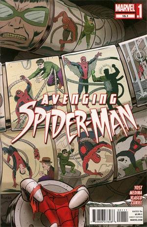 Avenging Spider-Man #15.1 1st Ptg