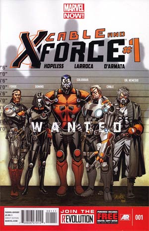 Cable And X-Force #1 Regular Salvador Larroca Cover