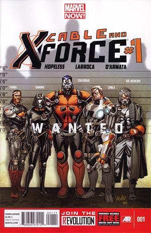 Cable And X-Force #1 Regular Salvador Larroca Cover