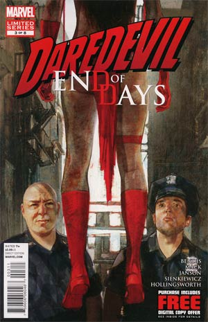 Daredevil End Of Days #3 Regular Alex Maleev Cover
